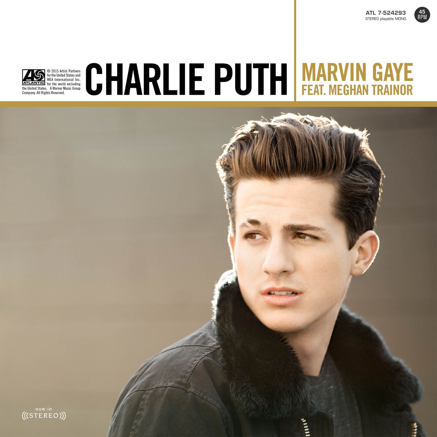 Charlie Puth - Marvin Gaye (feat. Meghan Trainor)