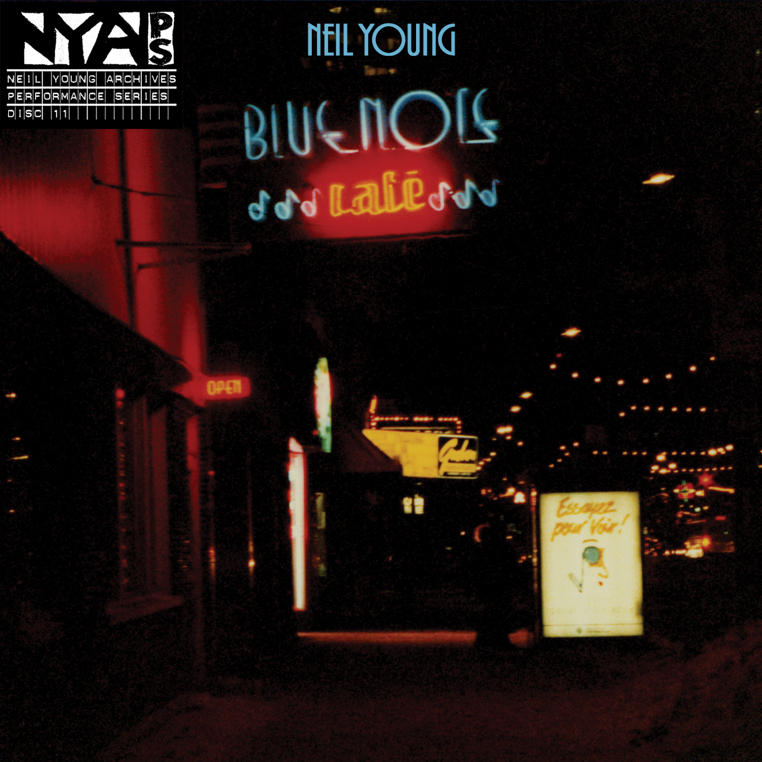 Neil Young Blue Note Cafe CD cover