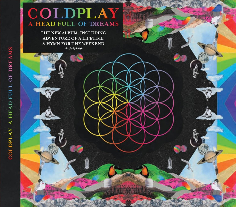 Coldplay A Head Full Of Dreams Warner Music Ireland