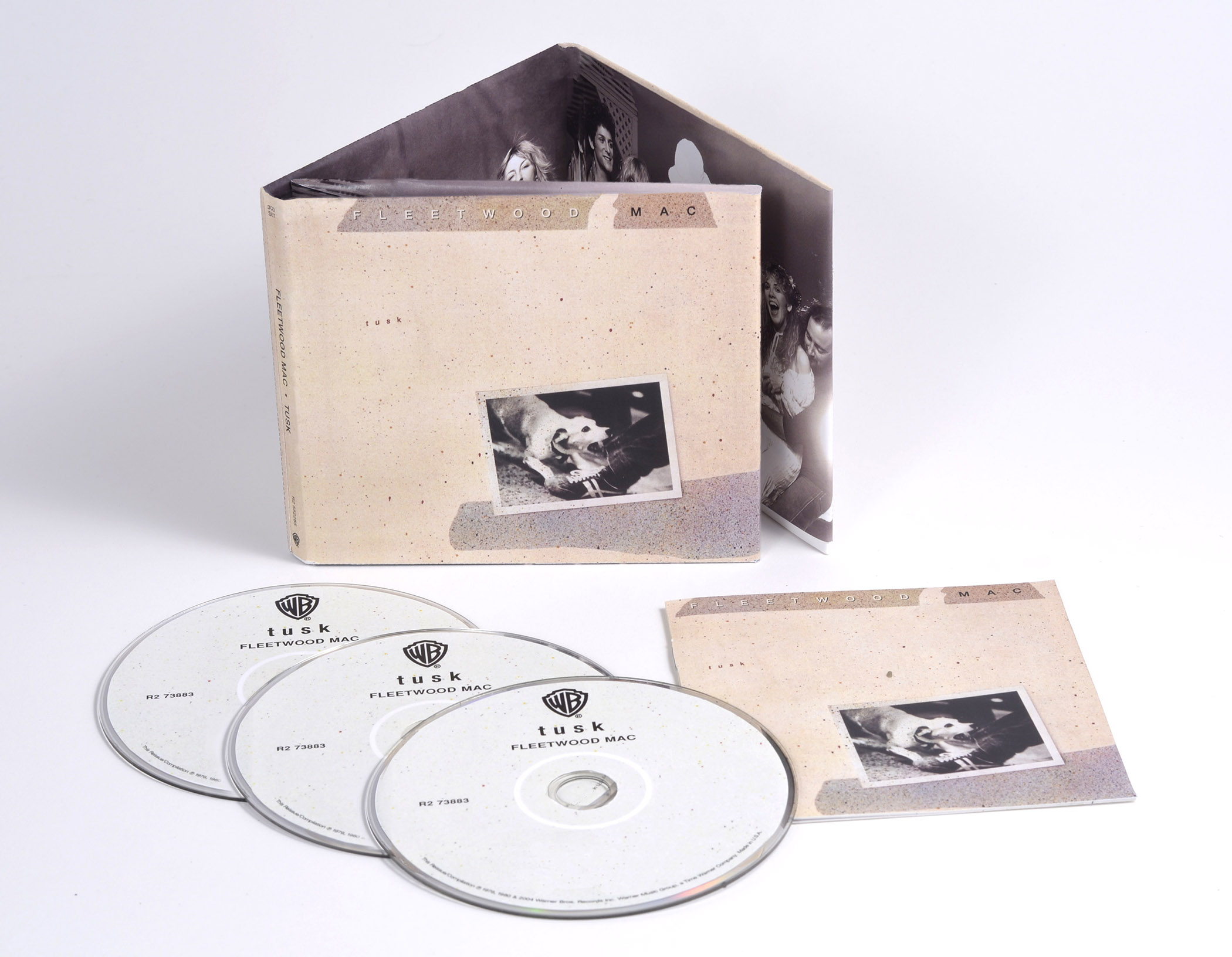 Fleetwood Mac TUSK 3CD Product Shot