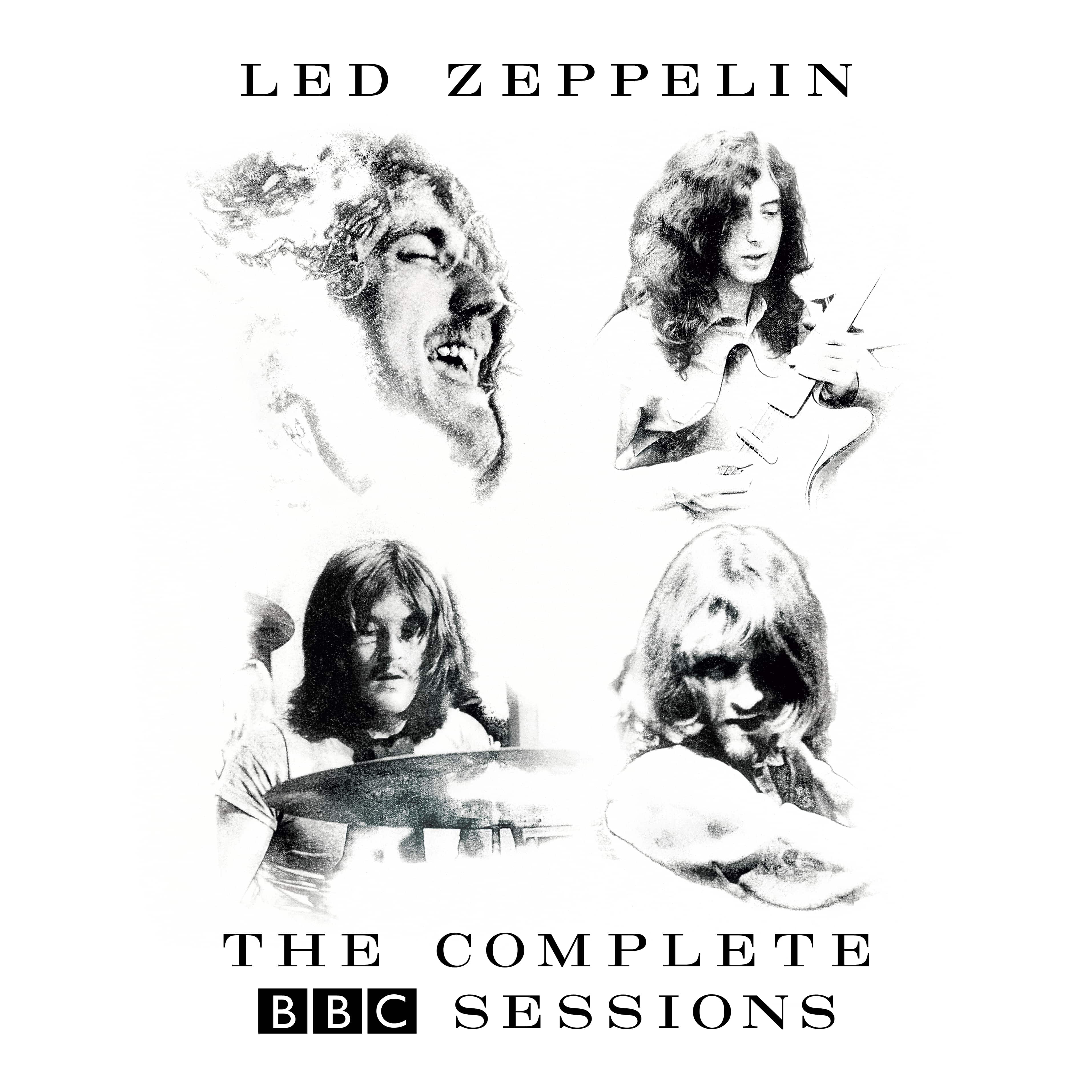 Led Zep - BBC Sessions (Packshot)